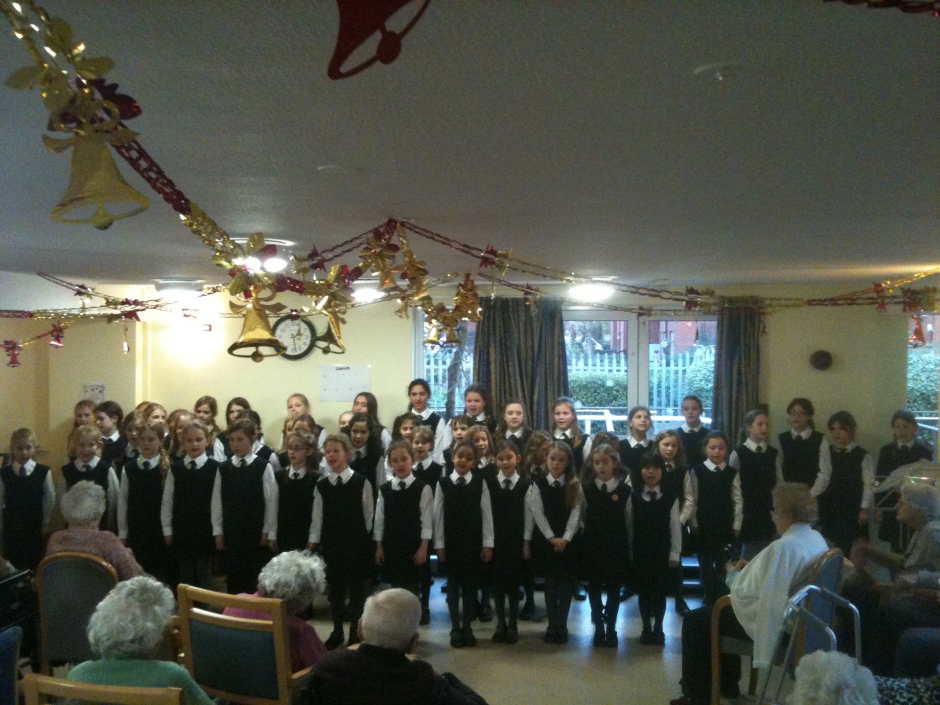 The Choir Delighted The Residents At Clifton Garden Care Home With  Christmas Songs And Music; Everyone Clearly Enjoyed Seeing And Hearing Our  Children ...