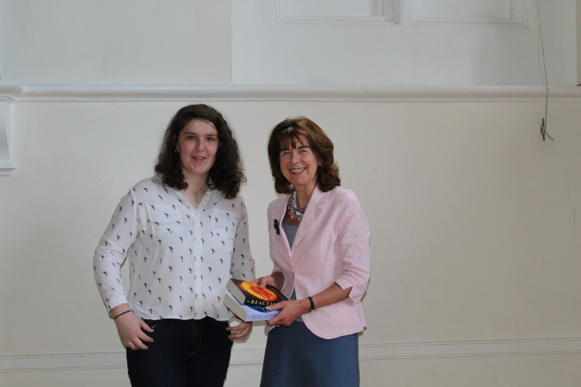 Helena Coggan visits CBPPS
