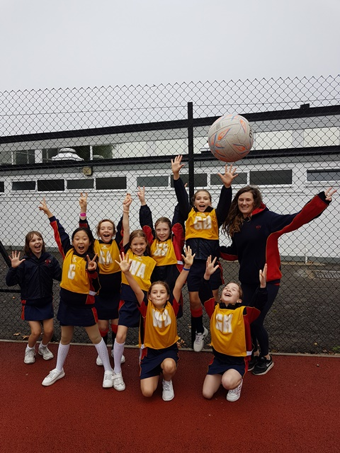 Year 4 Netball Tournament at Barn Elms