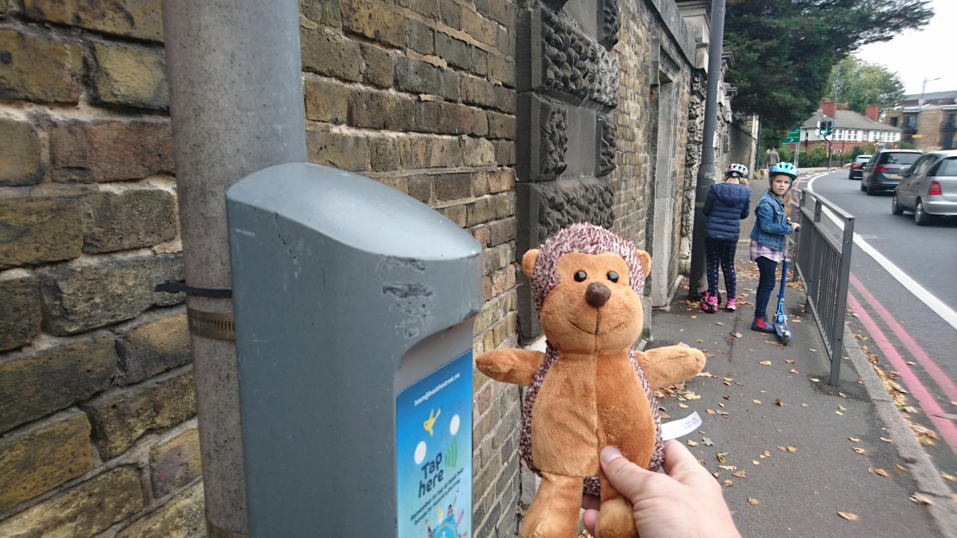 Beattie's first trip around Chiswick.