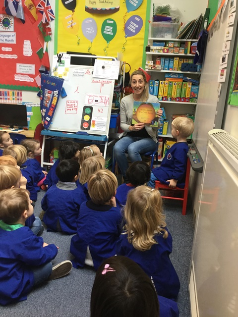 Language of the Month in Nursery