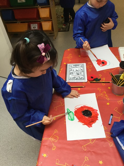 Remembrance Day in the Nursery