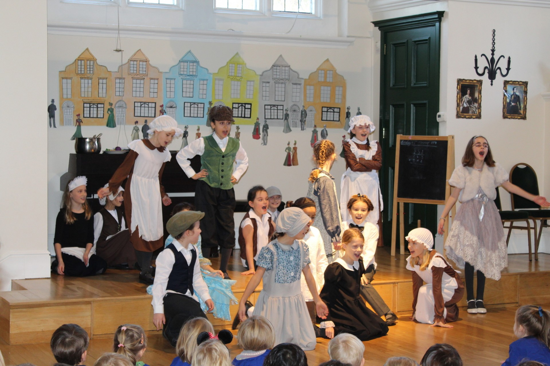 Form 5 Perform 'Victorian' Themed Assembly