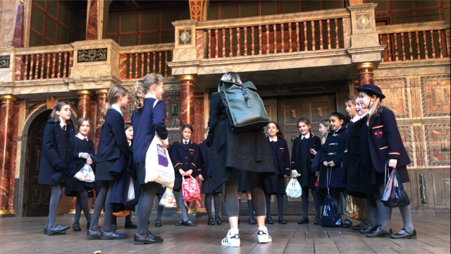 Form 5 Visit Shakespeare's Globe
