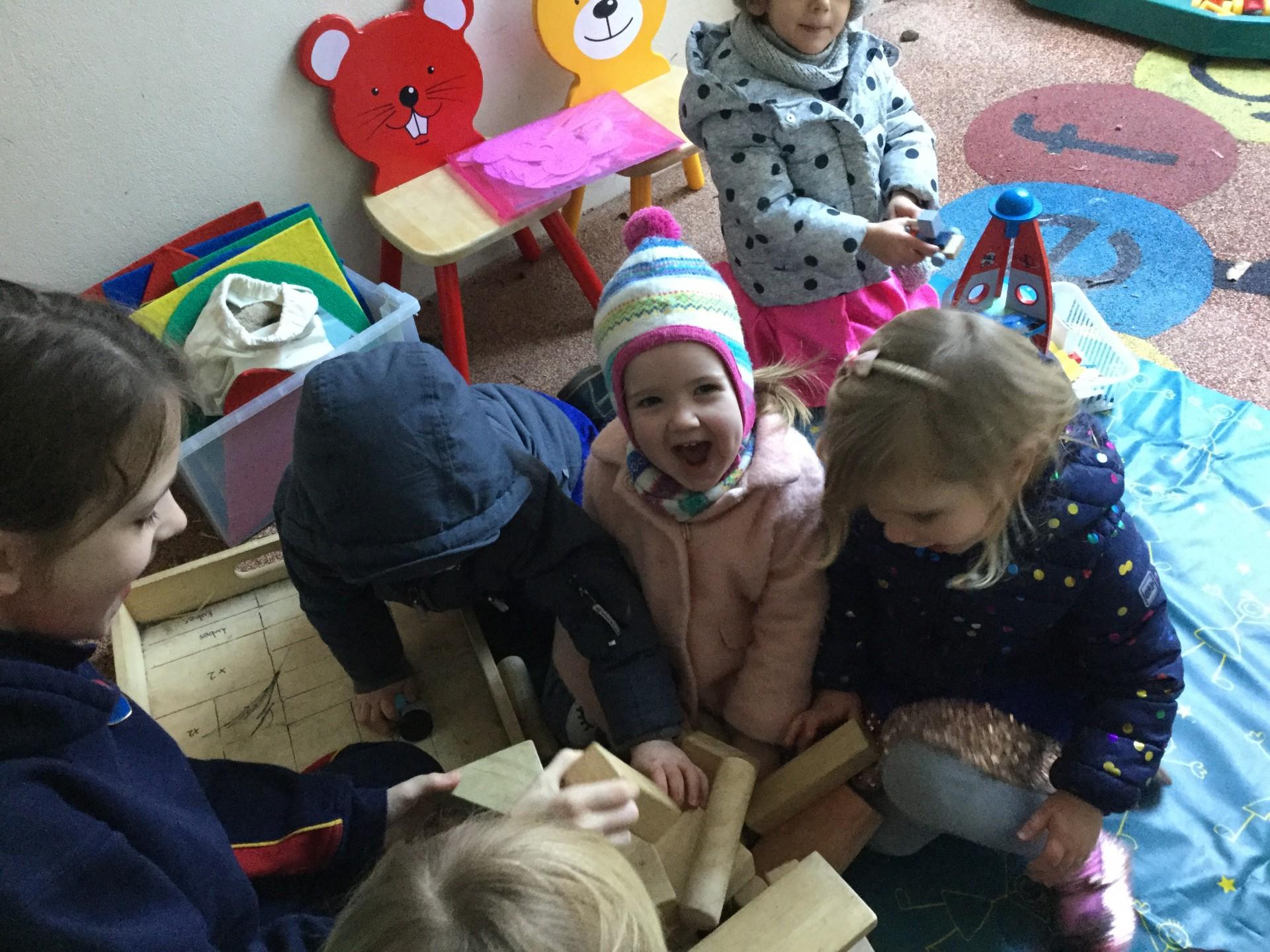 Form 6 visit the Nursery
