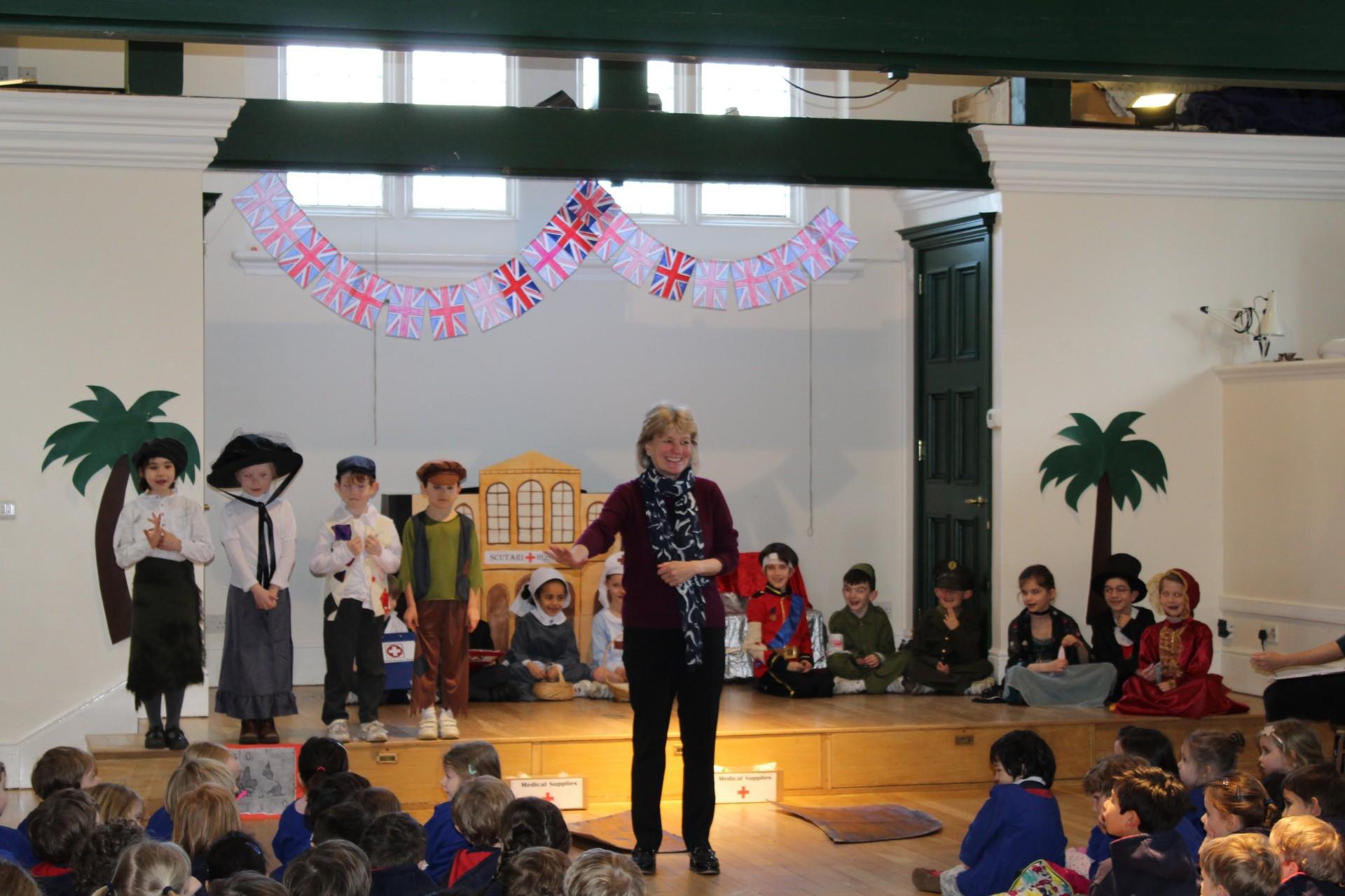 2W Assembly celebrating Florence Nightingale