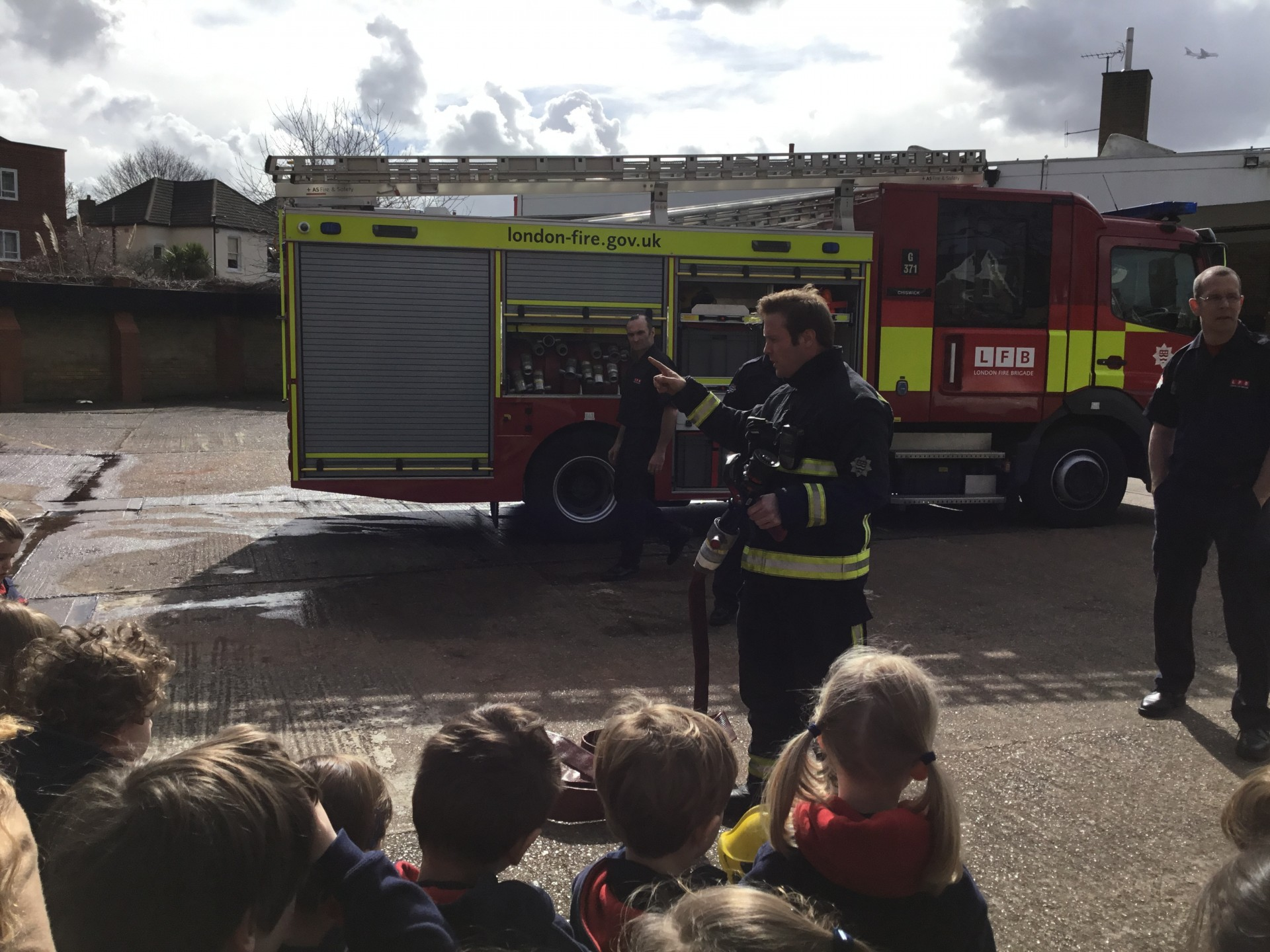 Reception Visit the Fire Station