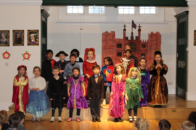 Tudor Themed Assembly Performed by 2A