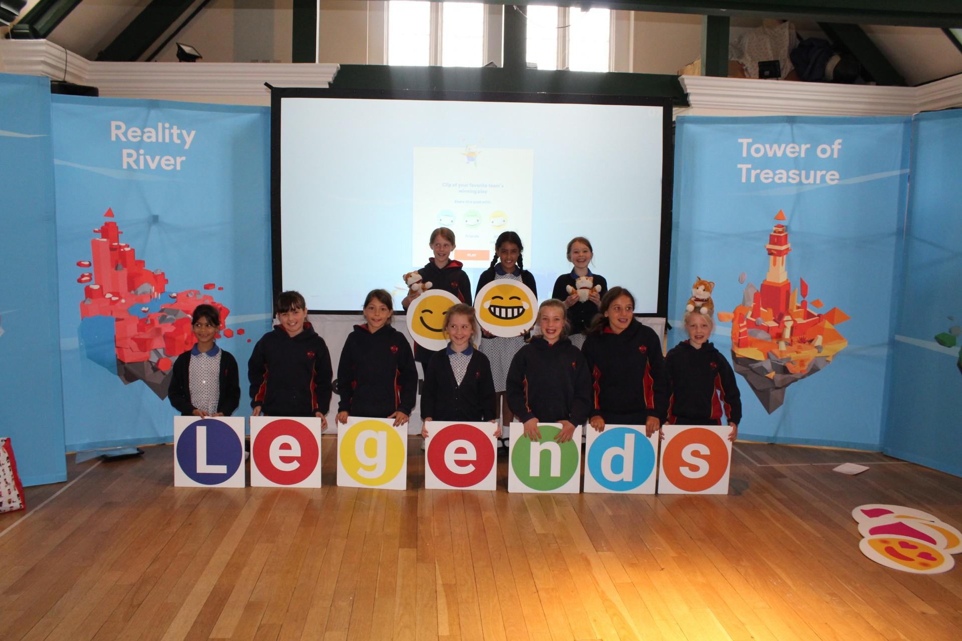 'Internet Legends' Assembly Hosted by Google