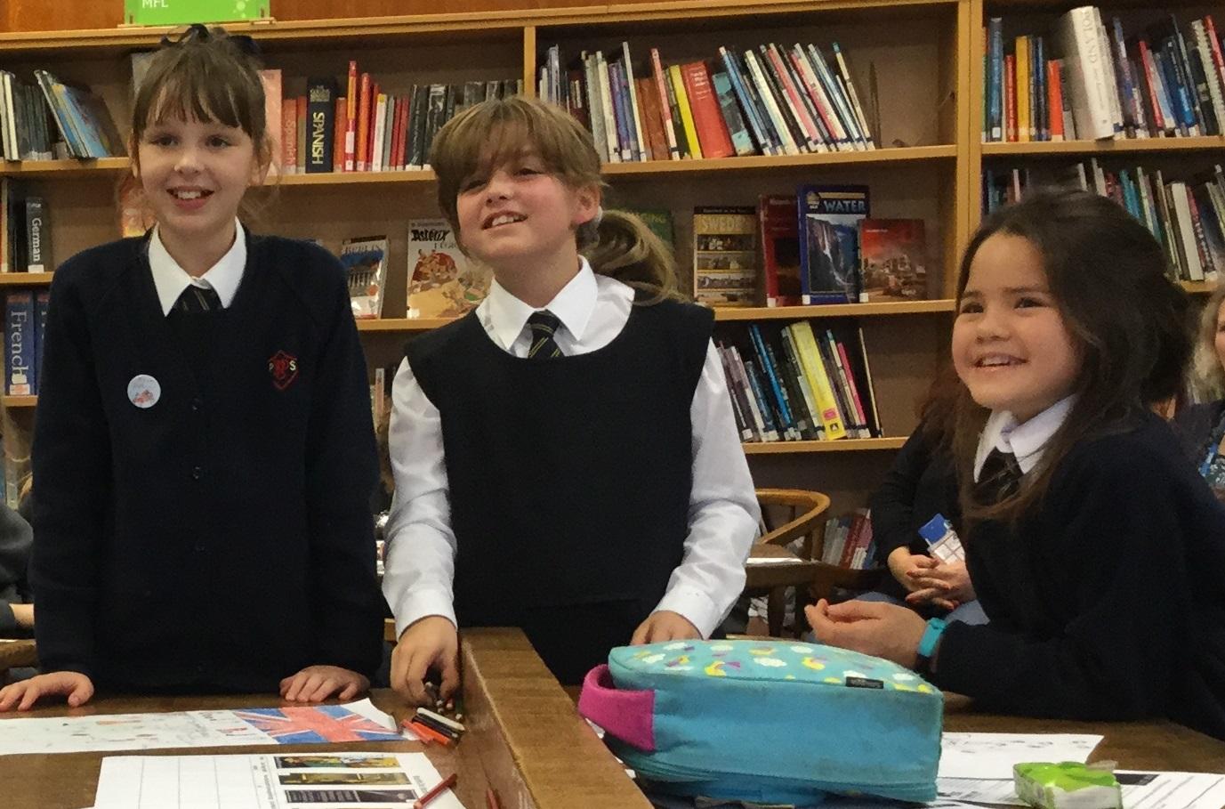 Pupils attend WW1 workshop