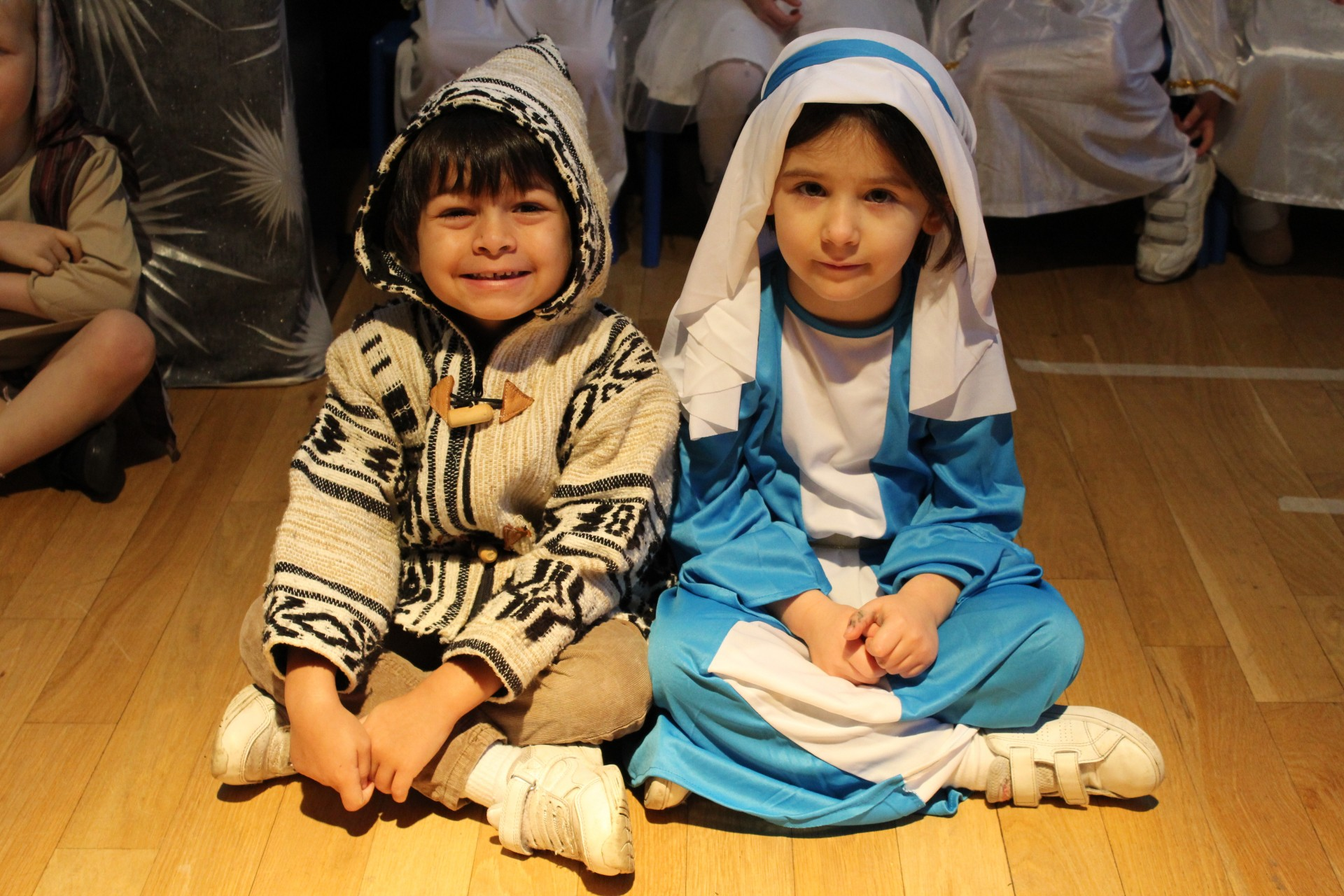 Reception perform the Christmas Nativity