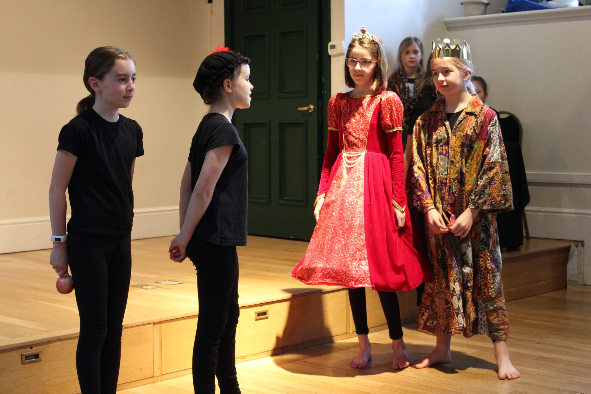 'The Play's The Thing' for Form 6 class assembly