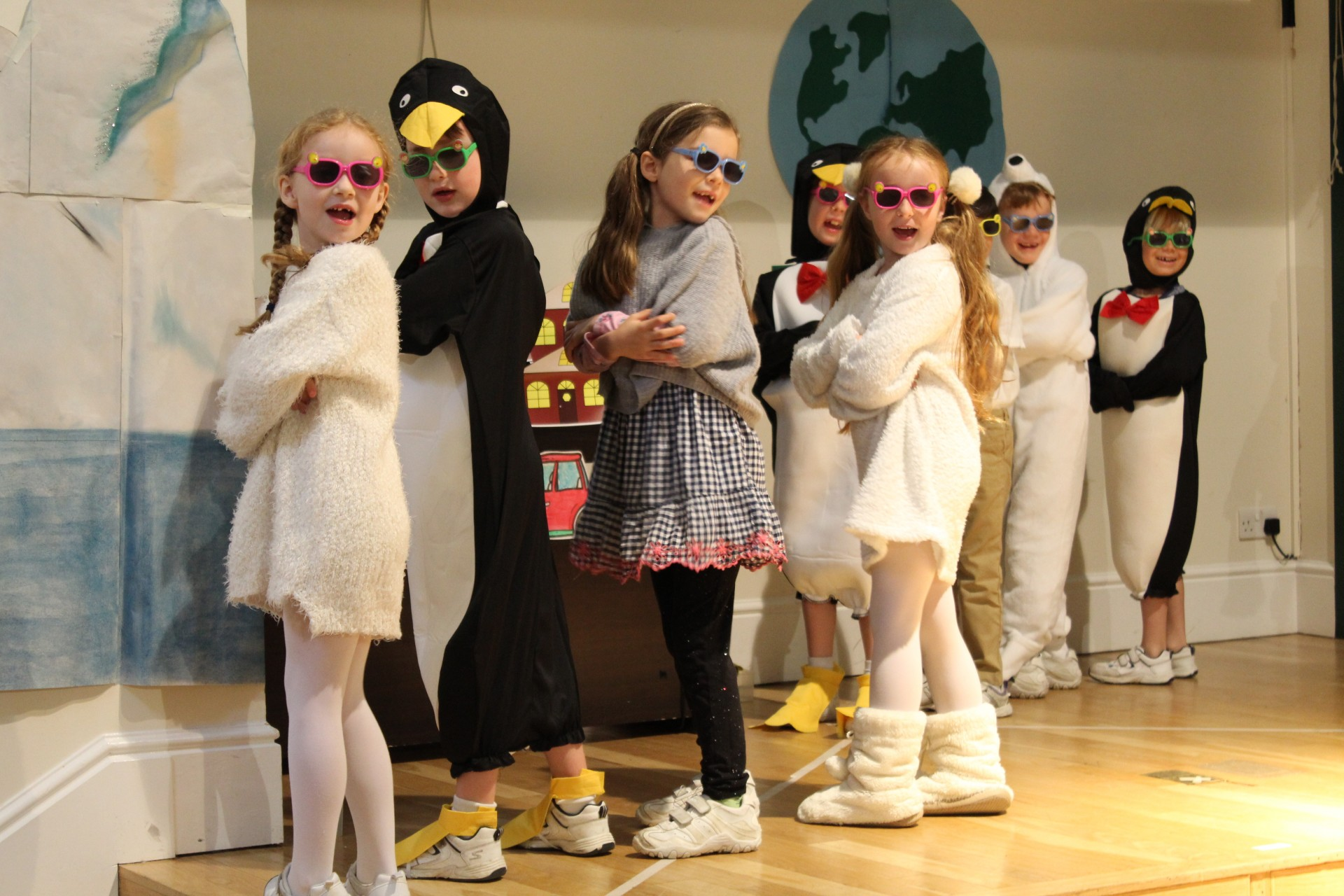 2W perform a planet-saving assembly!