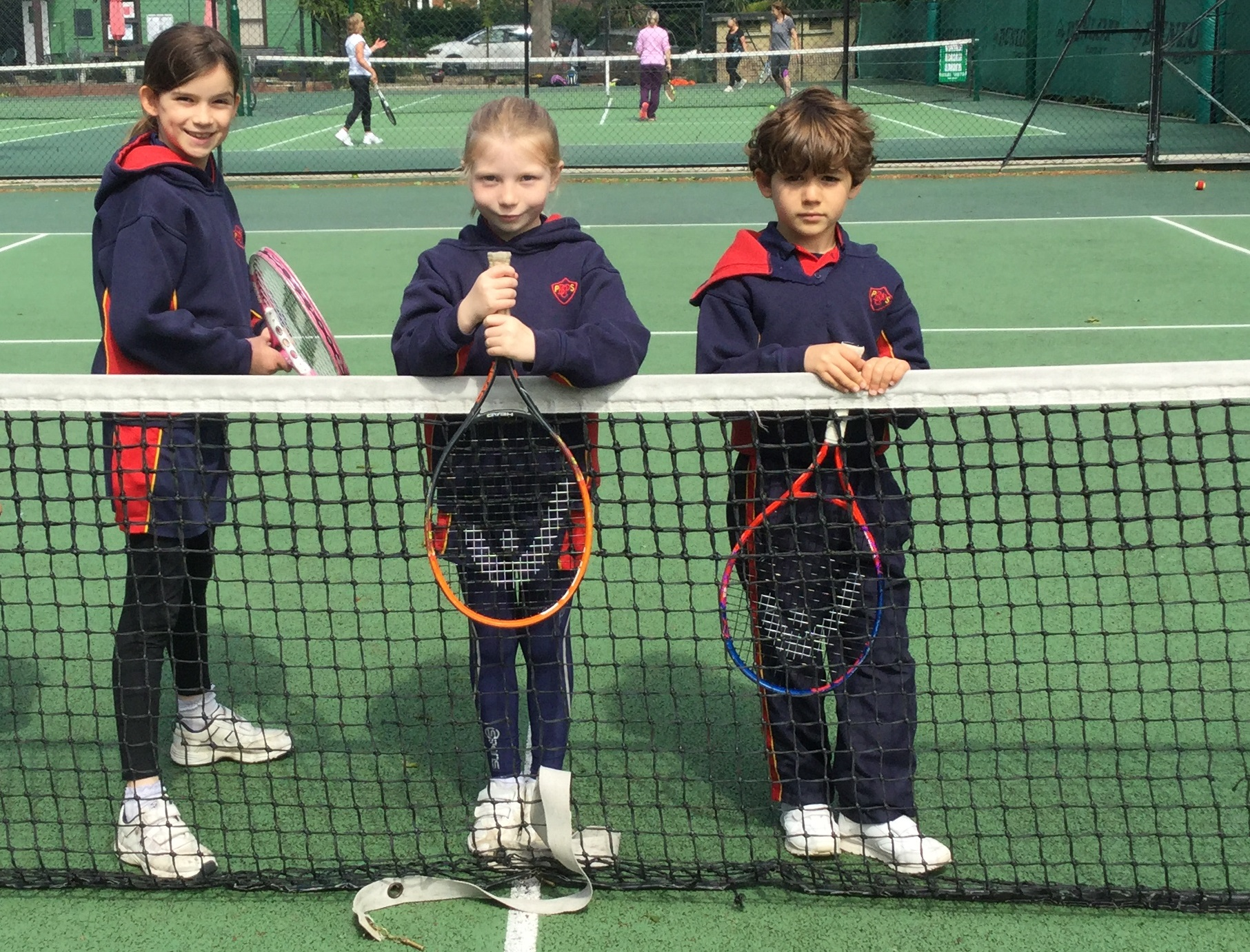 Wins at the first Local Schools Community Tennis Shield Competition