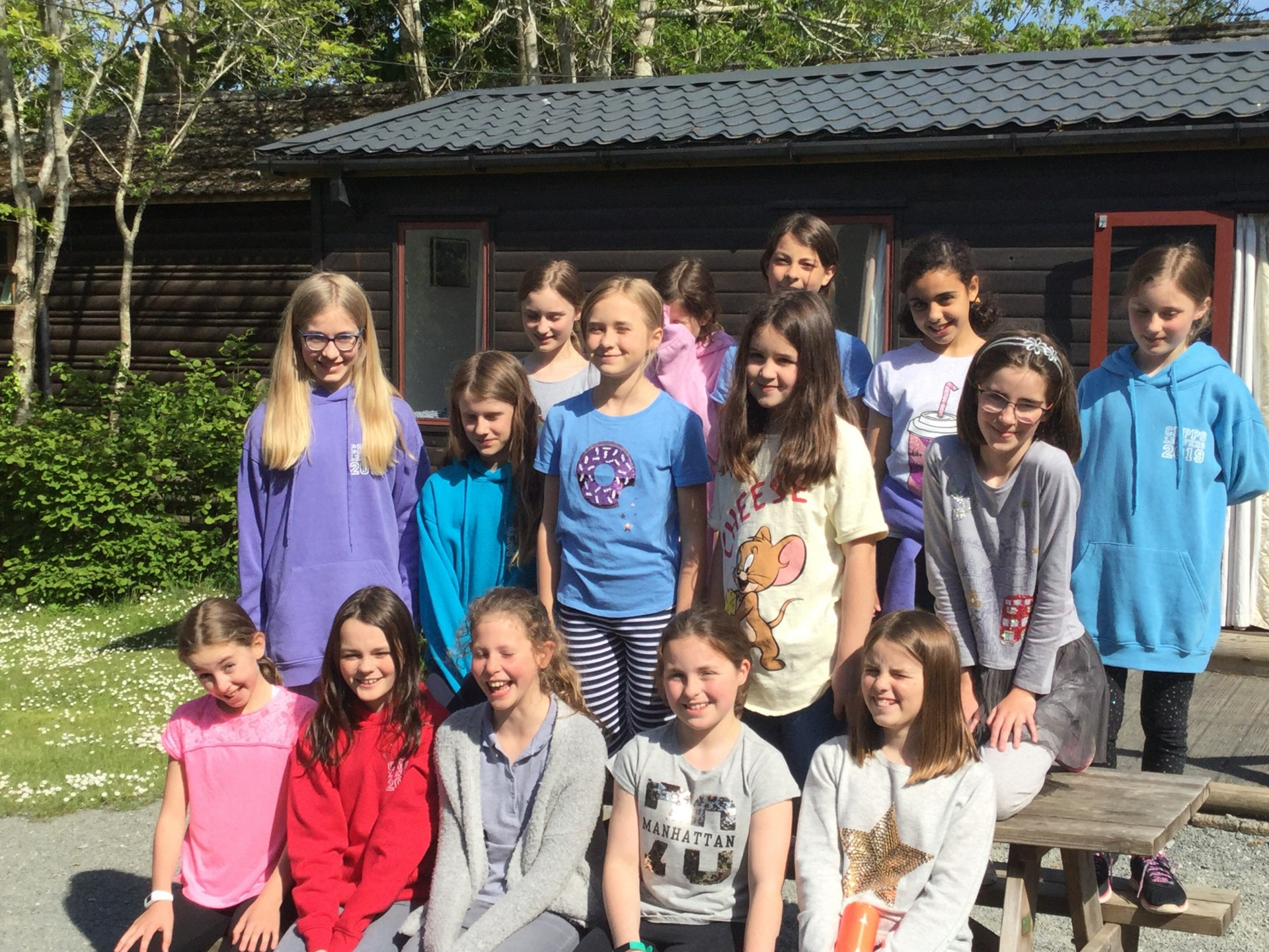 Form 6 are ready for adventure on the Isle of Wight!