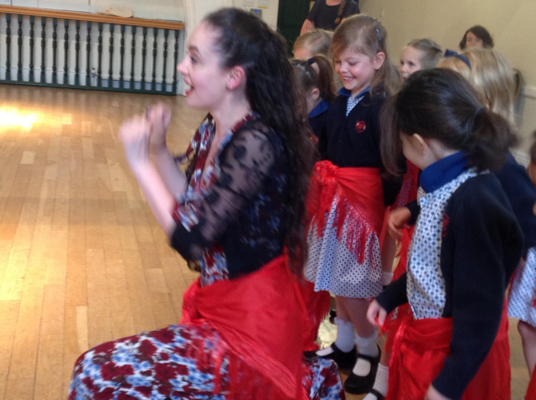 Singing, Acting and Dancing at Opera Workshop