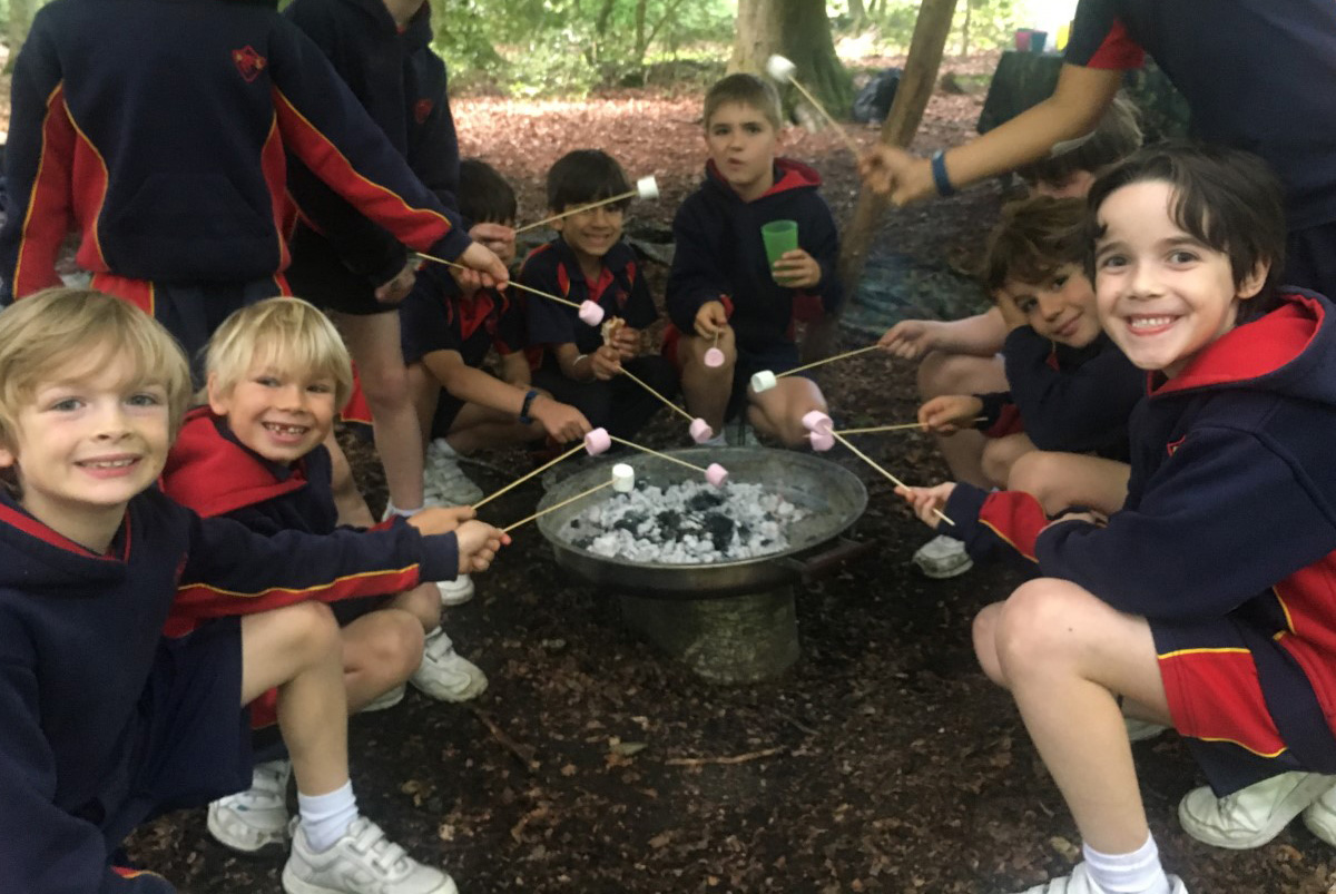 Year 2 Boys Forest Adventure Day